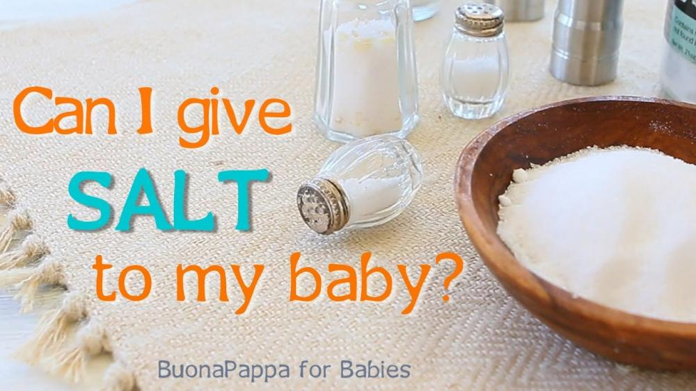 Thức ăn dặm cho bé có cần thêm muối?